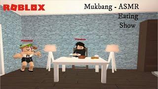 ROBLOX| Bloxburg MUKBANG - Breakfast Foods