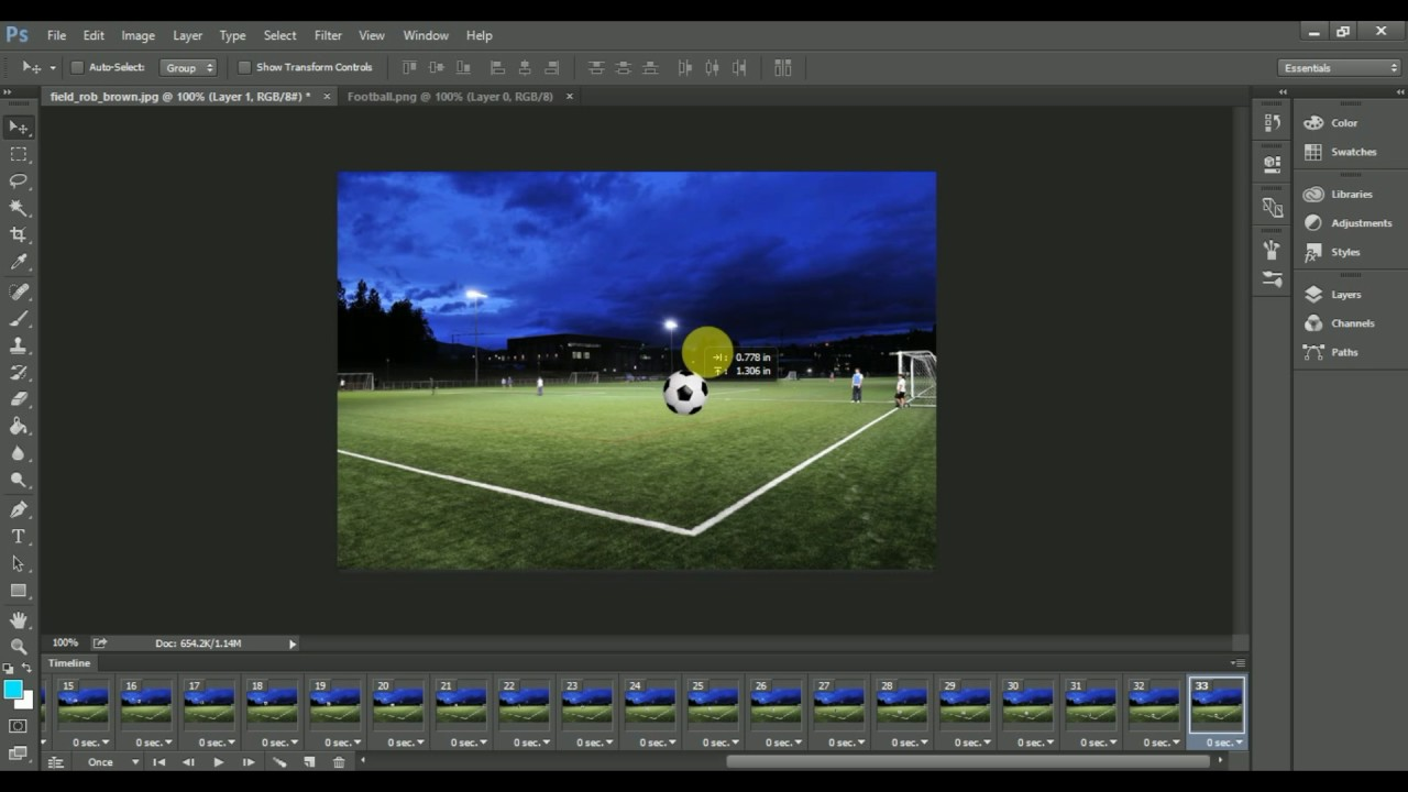 How To Make An Animated Gif In Photoshop Cs5 Cs6 Cc