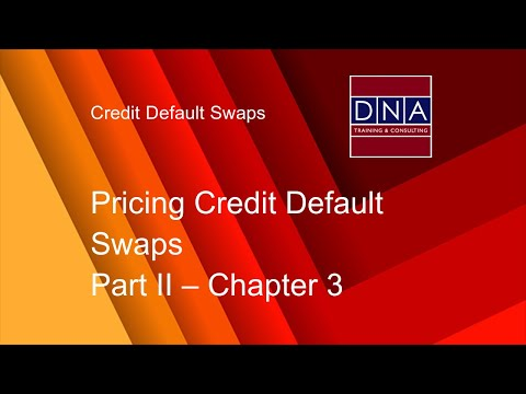Pricing Credit Default Swaps - Chapter 3