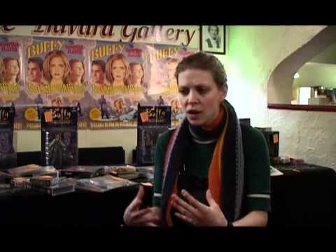 Slayerfest Behind The Scenes Interview with Amber Benson December 2003