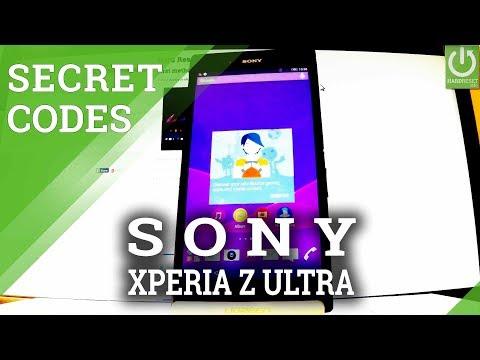 SONY Xperia Z Ultra SECRET CODES / TIPS / TRICKS / TEST MENU