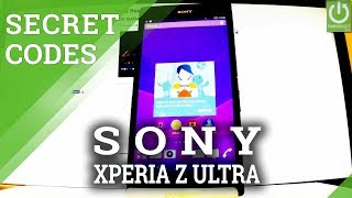 SONY Xperia Z Ultra SECRET CODES / TIPS / TRICKS / TEST MENU
