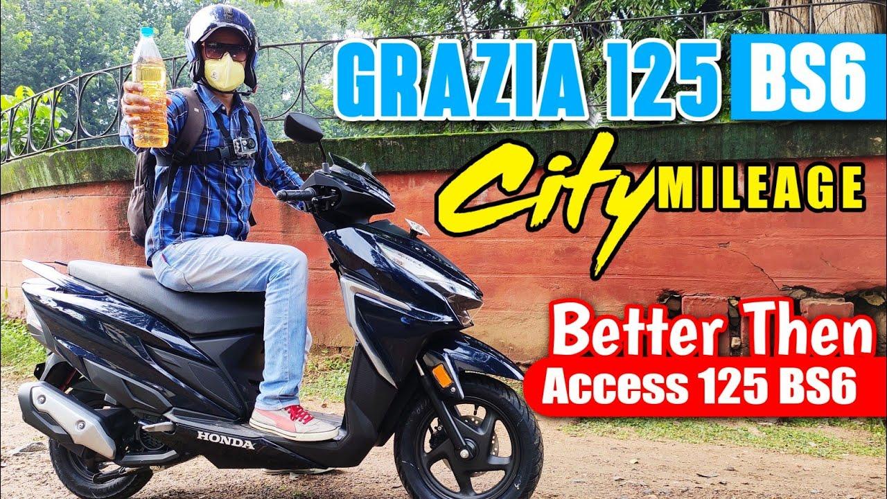 video Honda Grazia