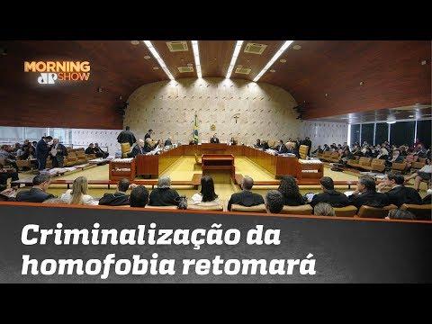 Bancada do Morning discute criminalização da homofobia; confira thumbnail