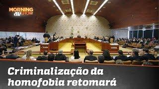 Bancada do Morning discute criminalização da homofobia; confira
