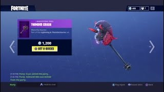 *NEW* How To Get The Thunder Crash For FREE (Fortnite Battle Royale)