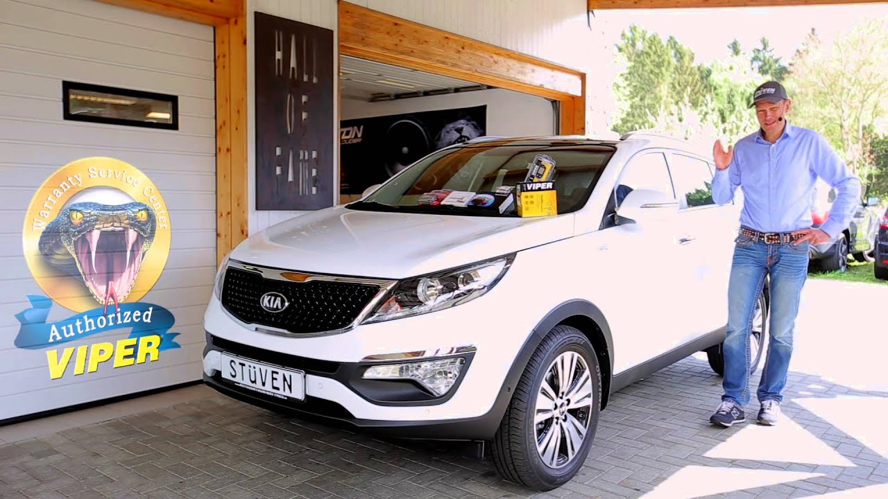 kia sportage sorento 2015 2016 test alarmanlage ampire. Black Bedroom Furniture Sets. Home Design Ideas
