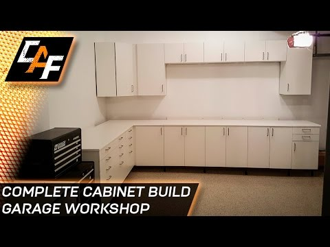 Ikea Sektion Cabinets - Installing Garage Workshop - CAFfablab