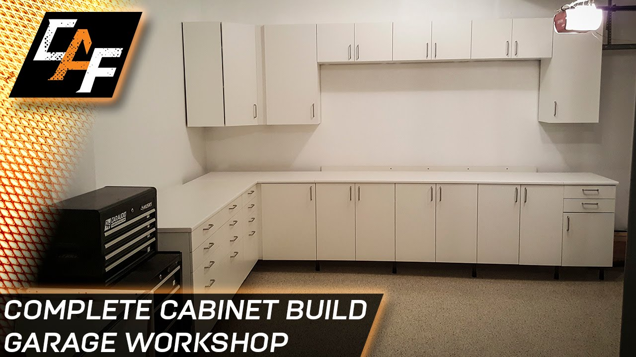 High Quality Ikea Sektion Cabinets   Installing Garage Workshop   CAFfablab   YouTube