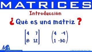 Zapętlaj Matrices Introducción | Conceptos básicos | Matematicas profe Alex