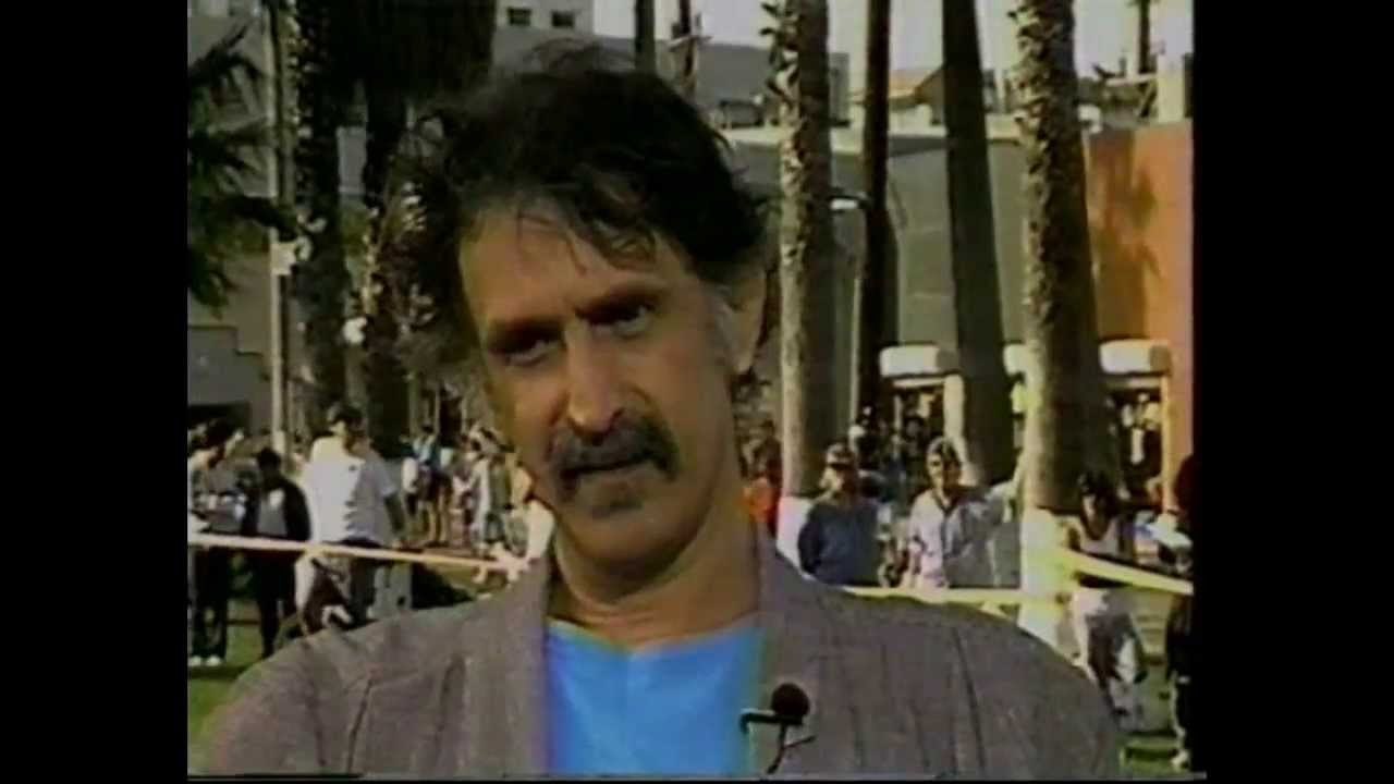 frank zappa tv interview 1990 youtube. Black Bedroom Furniture Sets. Home Design Ideas
