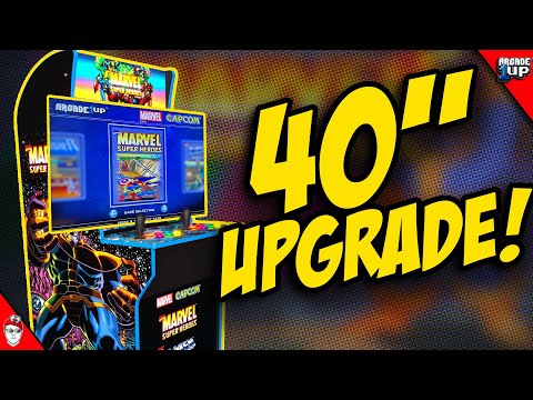 Arcade1Up - Upgrade your monitor to ANY SIZE! from Console Kits