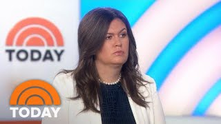 Sarah Huckabee Sanders: I Question Brett Kavanaugh Accusers' 'Tactics' | TODAY