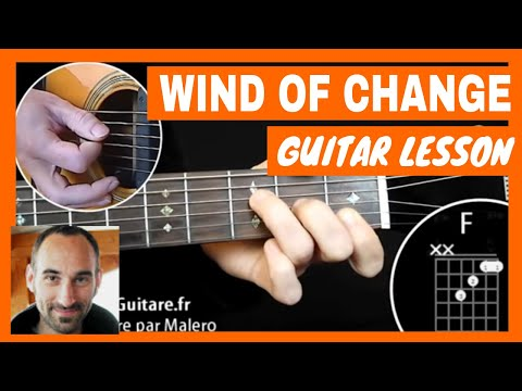 Wind Of Change Guitar Lesson - part 1 of 6