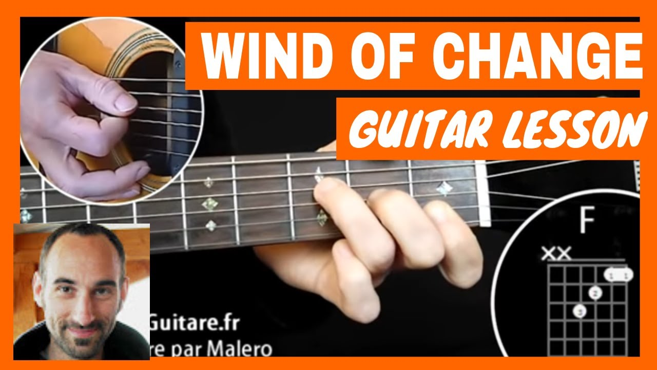 Scorpions Wind Of Change Guitar Tutorial Youtube