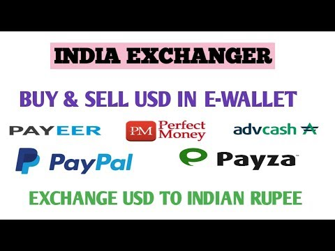 India Exchanger How To Buy And Sell Usd In Your E-wallet To Indian Rupee