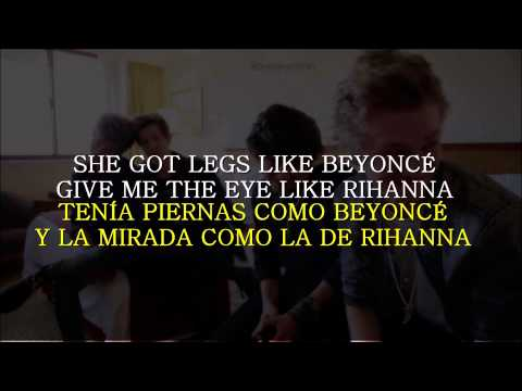 The Vamps - Girls on TV (Lyrics on screen/Letra en español)