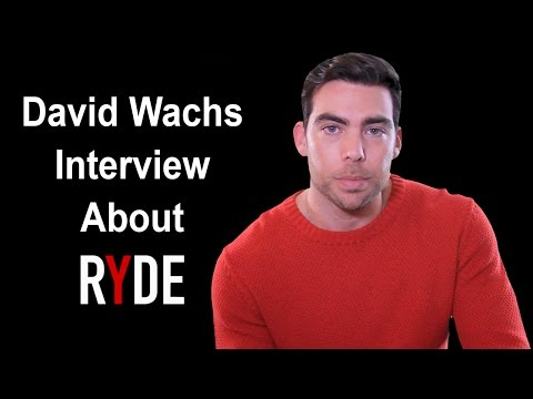 David Watch Interview About Ryde Movie