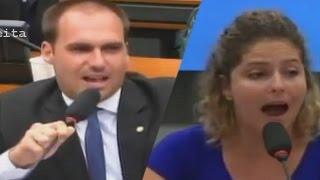 ➜ Eduardo Bolsonaro e Feliciano fazem 'presidenta' da UNE passar vergonha durante debate