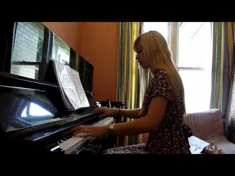 Lara plays 'Dance of Pales' from Castlevania on piano