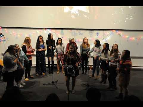 Brandeis University's Up the Octave Sings A Capella Cover of California King Bed