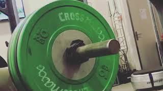 Stefano Vianello, press of 100kg.!