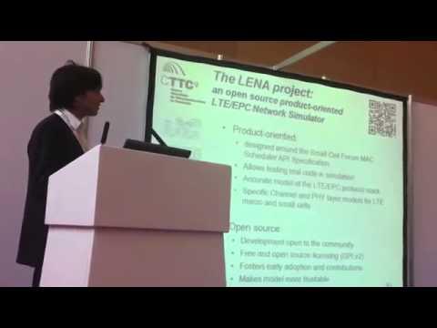 LTE_EPC NS3 Network Simulator [LENA, CTTC, LTE World Summit] mp4