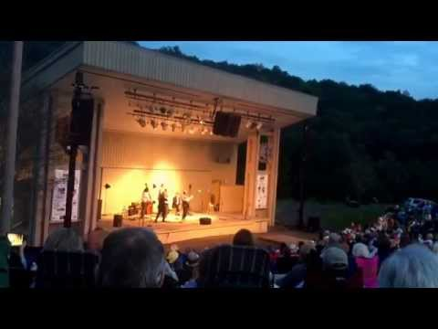 August 2015 Steep Canyon Rangers! Blueridge Music Center - huge crowd: bluegrass Galax VA
