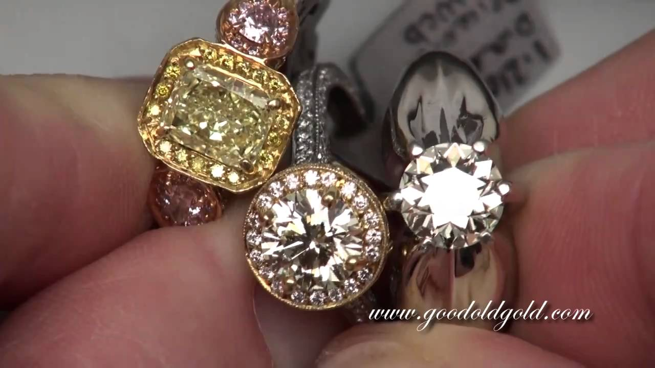 Warm And Fancy Colored Diamonds Youtube