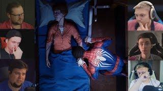 """""""Реакции Летсплейщиков"""" на Финал Игры из Spider-Man"""