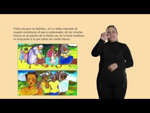 Cuento en Lengua de Señas Mexicana - La Peineta Colorada