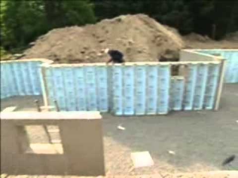 Superior walls precast basement youtube for Prefabricated basement walls