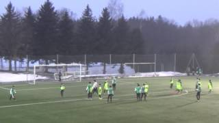 Příbram - Bohemians 1905 1:4 (0:2) - 1. poločas - PU 8.2. 2017