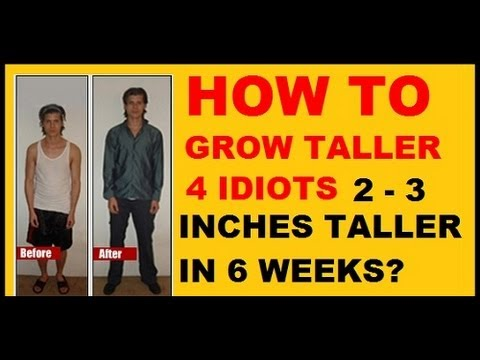 Grow Taller 4 Idiots Real Grow Taller 4 Idiots Review Youtube