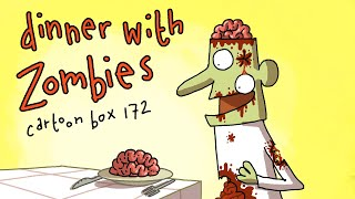 Dinner With Zombies | Cartoon Box 172 | by FRAME ORDER | Funny ZOMBIE cartoon