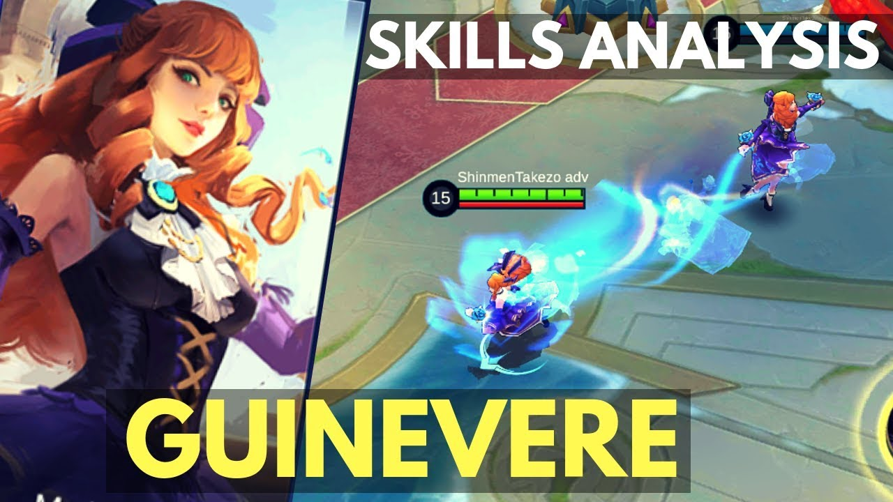 GUINEVERE : NEW MAGE FIGHTER HERO SKILL AND ABILITY ANALYSIS | Mobile Legends