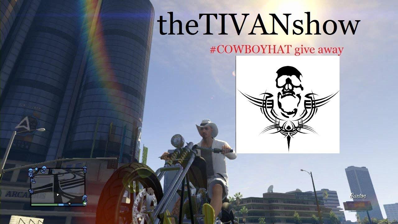 GTA 5 Car Show & Online Jobs #cowboyhatgiveaway