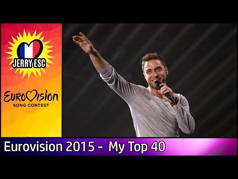 Eurovision 2015   My Top 40