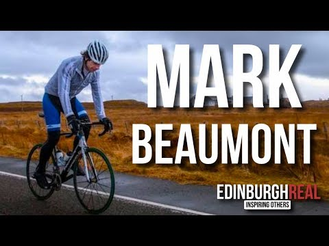 Mark Beaumont - The Man Who Cycled The World | Edinburgh Rea