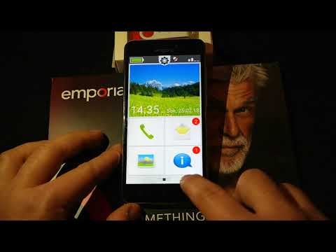 Okostelefon idősebbeknek | Emporia S2/launcher | MWC 2018