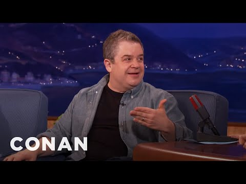 Patton Oswalt Wanted Andy Serkis To Be A RingBearer At His Wedding   CONAN on TBS
