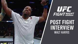 "UFC San Antonio: Walt Harris - ""I'm a Different Heavyweight"""