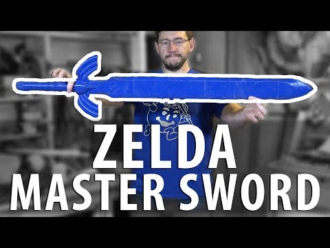 3D Printing the Zelda Master Sword using Polymaker Polylite on the Lulzbot TAZ6 MOARstruder