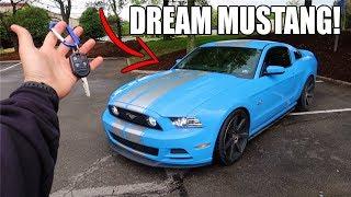 I BOUGHT MY DREAM MUSTANG! (MEET BLUCIFER!)