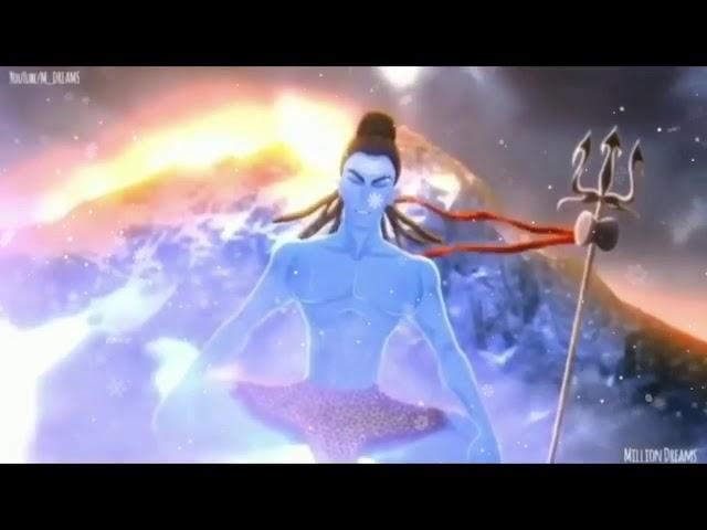 Shiva The Destroyer|| Very Angry Lord Shiva ???? Tandav Stotram|| Must Watch Fearless Shiva ????