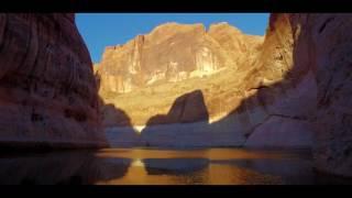 Reflections of Lake Powell (DJI Osmo)
