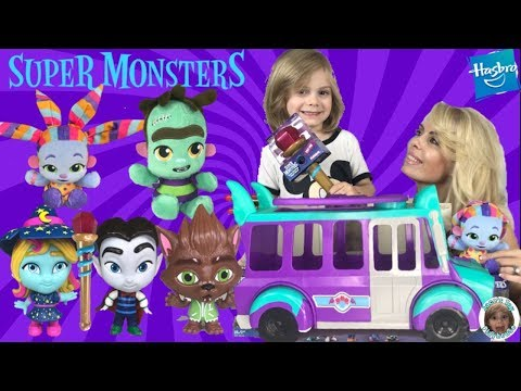 NEW Hasbro Netflix Super Monsters Series Toys Unboxing 4K