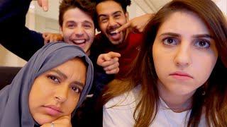 اكبر مضاربة لنا قدام الكاميرا بسبب حنان وحسين!!