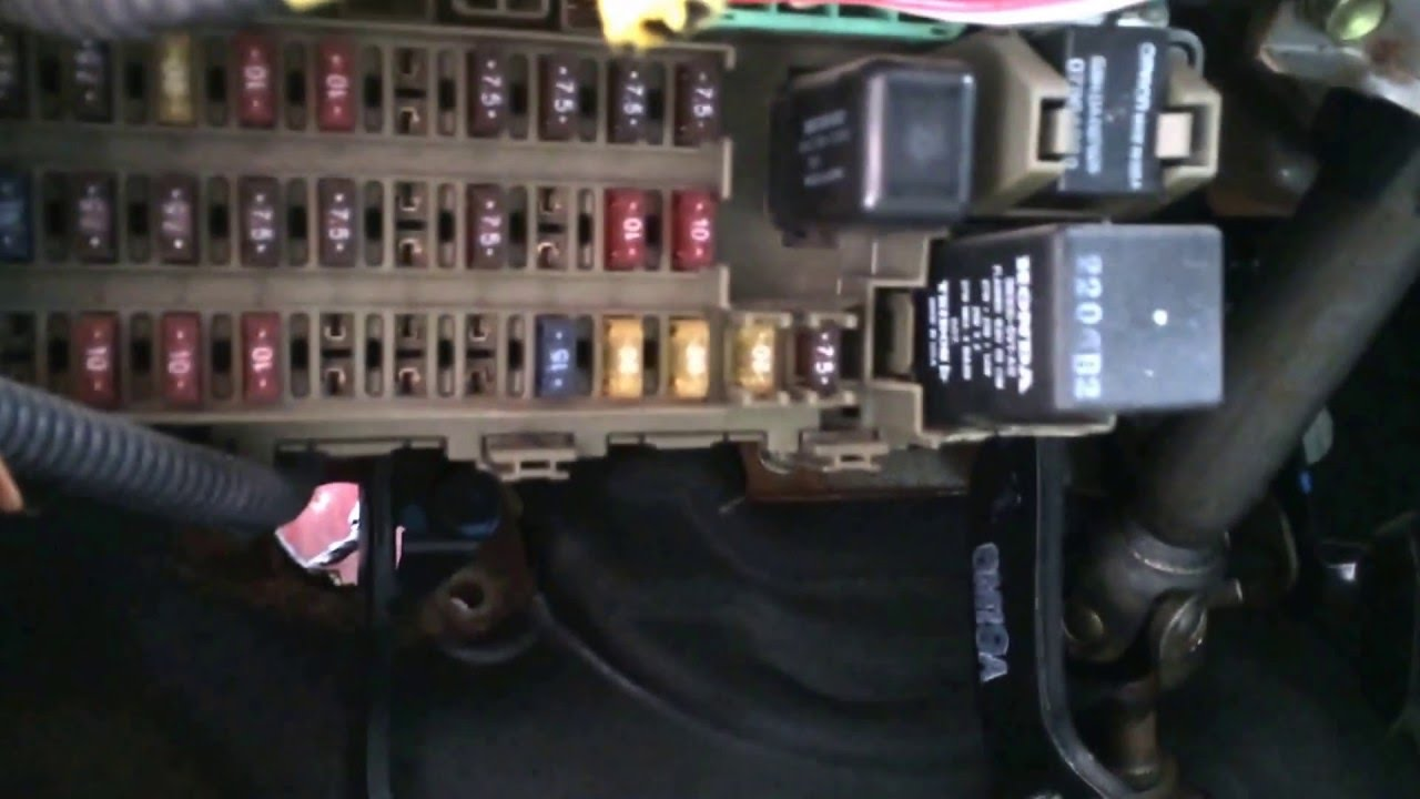 Eg Coupe Fuse Box Auto Electrical Wiring Diagram 2006 Mustang Interior 1996 Honda Civic Location