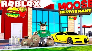 BUILDING $1 BILLION RESTAURANT IN ROBLOX! (Roblox Fast Food Tycoon)